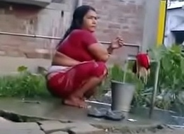 Indian Dispirited Of age Wife Rides on White Dick (new)