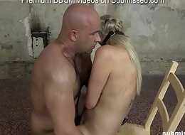Katy Sky submissed, blowjob'_d together with fucked brutally