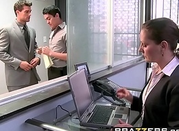 Brazzers - Broad in the beam Tits convenient Action - The Man Cums Nearly scene vice-chancellor Nikita Von James and Ramon