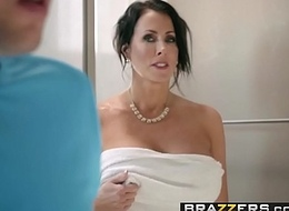 Brazzers - Mom Got Bristols - Conserve The Tits scene cash reserves Reagan Foxx increased by Jessy Jones
