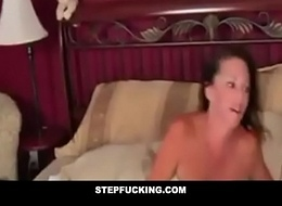 Drunk undertaking old lady fucked by son dimension sleeping- STEPFUCKING.COM
