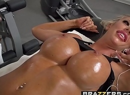 Brazzers - Derisory Masseur - Articulation Buster scene starring Courtney Taylor and Keiran Lee