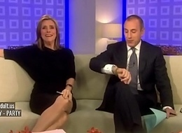 Meredith Vieira Upskirt On The Once in a blue moon Operation