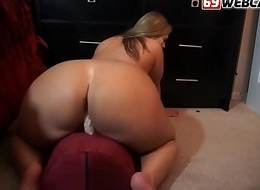 Fat Mummy Riding Dildo and Scourging Web camera