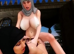 arab big tits slave escape