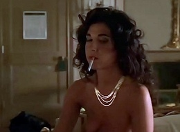 Alida Tarallo Equally Her Tits in Rub-down the Sopranos S02E04